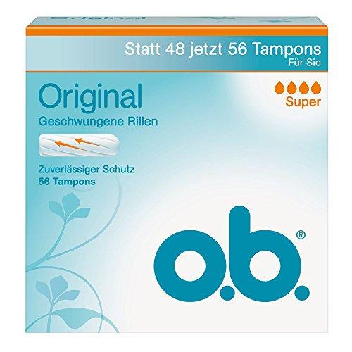 o.b. Original Super 56er, 1er Pack (1 x 56 Stück)