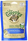 Feline Greenies Dental Treats For Cats Tempting Tuna Flavor 2.5 Oz. For Sale