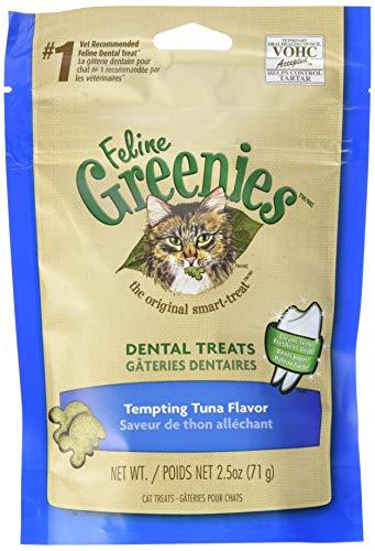 Greenies Feline Adult Dental Cat Treats, Tempting Tuna Flavor