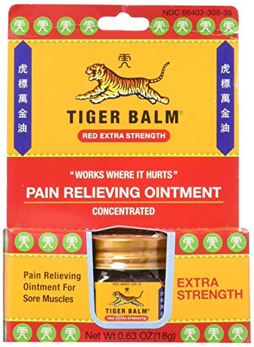Tiger Balm Extra Strength Pain Relieving Ointment, 18 Gram - 6 per case.