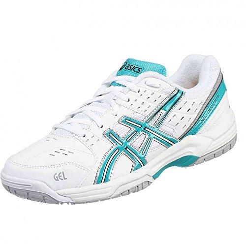 Asics , Damen Tennisschuhe weiß weiß