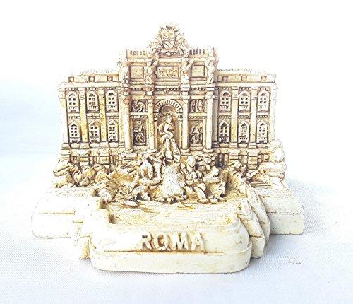 small Polyresin Model Statue Rome Miniature Fontana di Trevi . Trevi Fountain Italy