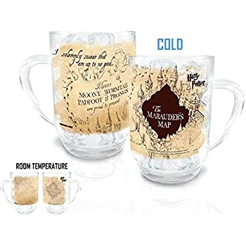 Harry Potter Marauders Map Morphing Cold Sensitive Mug