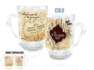 Harry Potter Marauders Map Morphing Cold Sensitive Mug