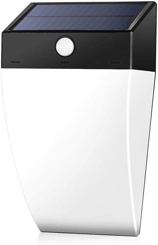 GrandBeing Aplique LED Exterior 36 LED Lámpara Solar Exterior, Foco Impermeable Solar con Sensor de Movimiento para Jardín, Patio, Camino, Escaleras y Terraza: Amazon.es: Iluminación