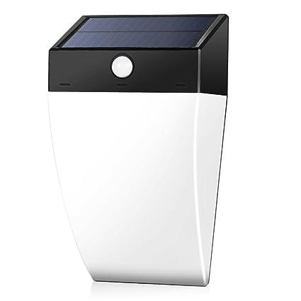 Aplique LED Exterior GrandBeing 36 LED Lámpara Solar Exterior, Foco Impermeable Solar con Sensor de
