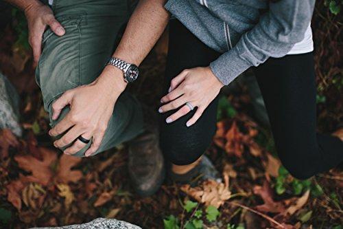 Qalo Womens Silicone Wedding Ring Silicone Rings