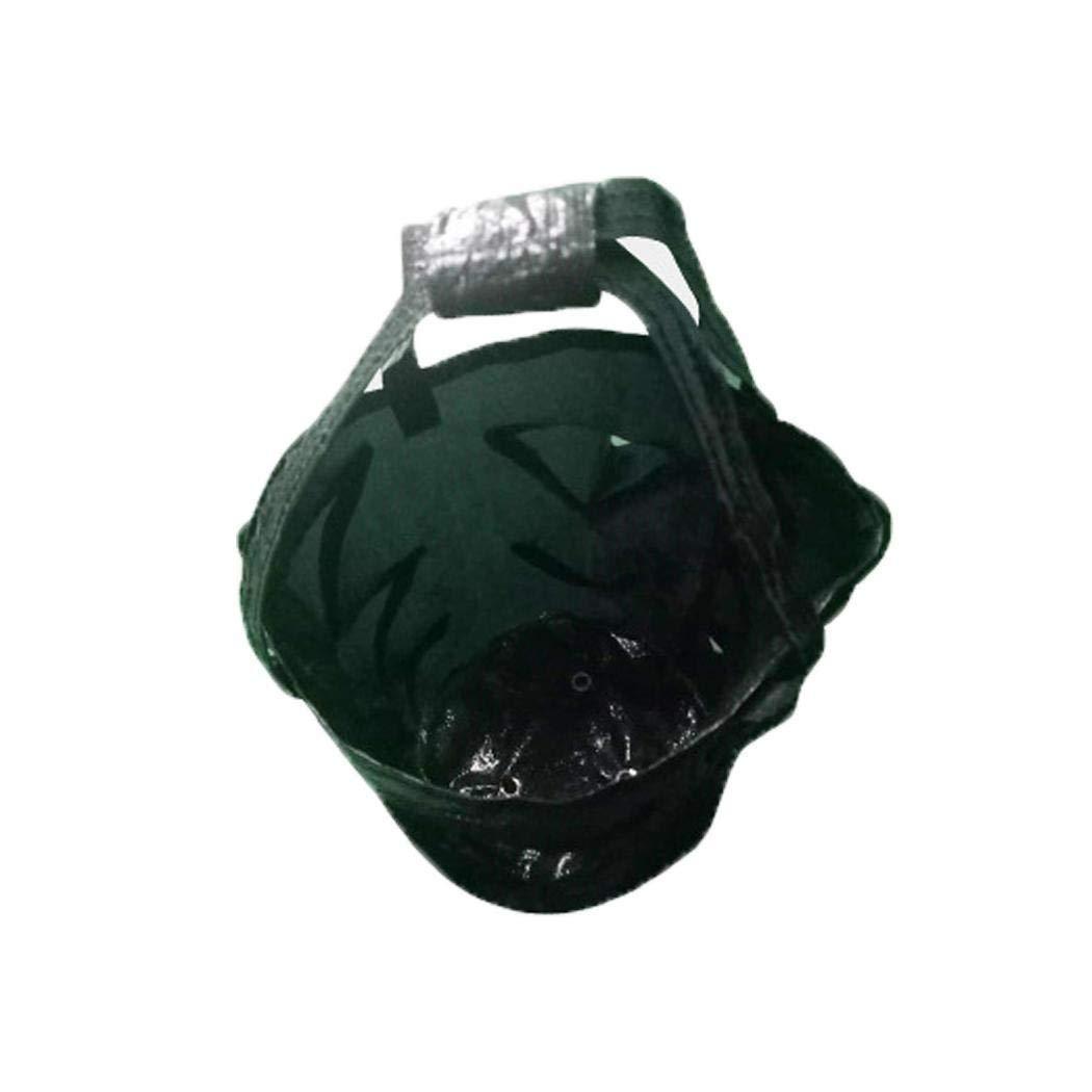 Weform 3 Gallon Hanging Flower Plant Aerial Gardening Strawberry Bag Grow Bags