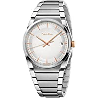 Calvin Klein Men's Silver Steel Bracelet Watch