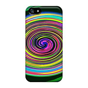 DrunkLove Fashion Protective Colorful Whirl Case Cover For Iphone 5/5s