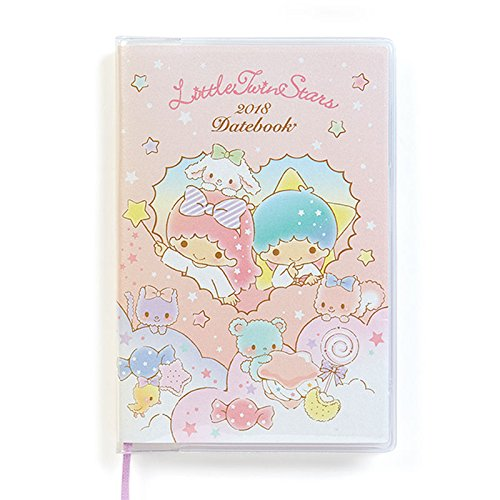 Sanrio Little Twin Stars Pocket Date Book 2018 From Japan New