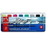 Creative Art Materials Caran D'ache Gouache Studio, 8 sartenes (1000.308)