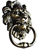 SHERIC Knocker Door Handle Pull Lion Knocker