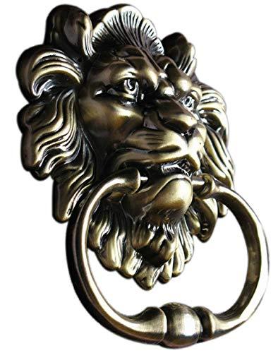 SHERIC Knocker Door Handle Pull Lion Knocker (Knocker Lion Door)