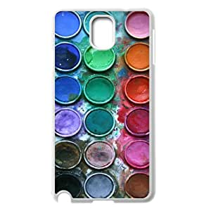 Samsung Galaxy Note 3 N9000 2D Customized Phone Back Case with Colour Image