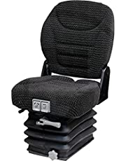 KlaraSeats KS 44/140 Smalle spoor sleeppersstoel tractorstoel bestuurdersstoel trackerstoel passend holder Fendt