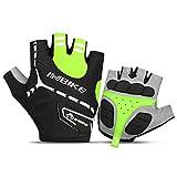 INBIKE Men's Gel Cycling Gloves Reflective Half Finger Bicycle Glove...