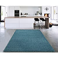 Sweet Home Stores Cozy Shag Collection Solid Shag Rug...