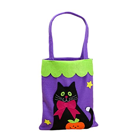 Lina13Wu Bolsa de caramelos de Halloween, bolsa de caramelos ...