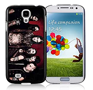 Fashion Antiskid Custom Designed Cover Case With Motionless In White For Samsung Galaxy S4 I9500 i337 M919 i545 r970 l720 Black Phone Case 301