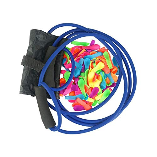 Zaote Water Bomb Slingshot,Water Balloon Launcher Gun 400 Meters Long Range with 100 Balloons, 3 Man Slingshot Water Bomb Large Catapult Slingshot, Boys Girls Kids Water Cannons Toys Yard Everybody (Best Male Tennis Players Of All Time)