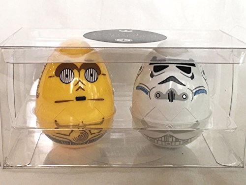 Disney Parks EGGstravaganza 2018 Star Wars Easter Egg Set C-3PO & Stormtrooper ()