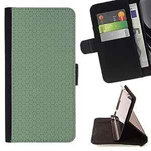 Momo Phone Case / Flip Funda de Cuero Case Cover - Simple patrón de 23 - Samsung Galaxy S6 EDGE