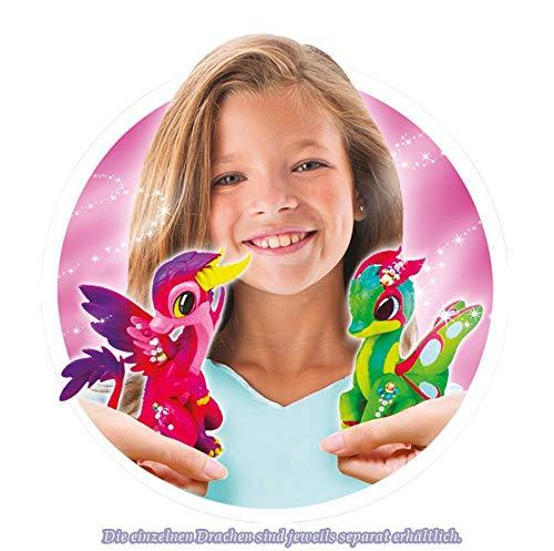 Dragon Fairies Spielset EMBER,Drachenfee Embers Zauberstab Ardgonite,Zauberstab erkennt Drachen und erscheint als Bildschirmanimation,Stab erm/öglicht Zauberwettk/ämpfe Splash Toys 30150