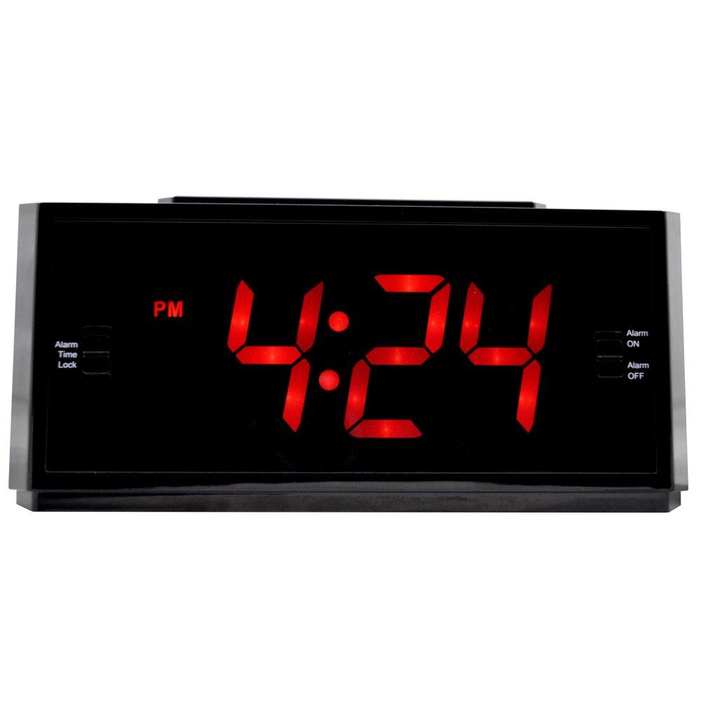 REVO America RECLK-1 Covert Alarm Clock Camera (Black) by REVO America