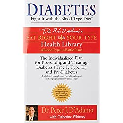 Diabetes: Fight It with the Blood Type Diet: The Individualized Plan for Preventing and Treating Diabetes (Type I, Type II) and Pre-Diabetes (Dr. ... Eat Right 4 Your Type Health Library)