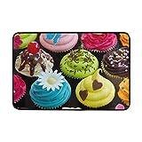 Best Fruitcakes - Fruitcake Cupcake Dessert Cream Doormat Indoor Outdoor Entrance Review