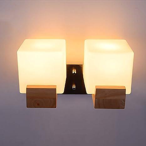 LJL Comodini Applique Lampade da Parete LED Moderno Creativo ...
