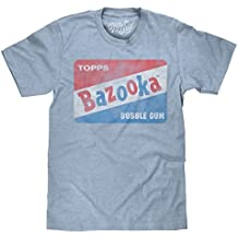 Tee Luv Vintage Bazooka Bubble Gum Licensed T-Shirt | Soft Touch Poly Cotton Fabric | by