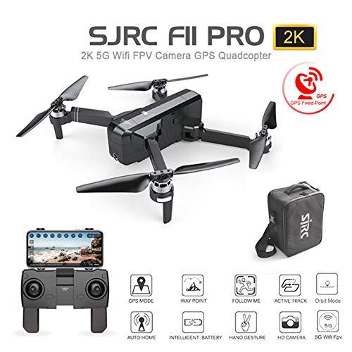alta calidad general 2 Baterias Baterias Baterias Amyove SJ RC F11 Pro 5G WiFi FPV GPS sin escobillas RC Drone 2K cámara con Bolsa de Almacenamiento 2 baterias  descuento de ventas