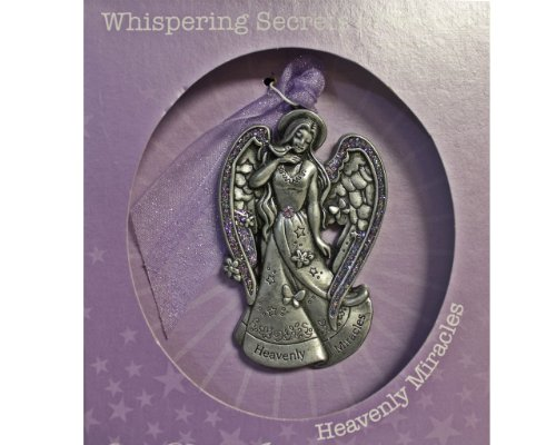 Pewter Angels Ornaments (Whispering Secrets of Angels