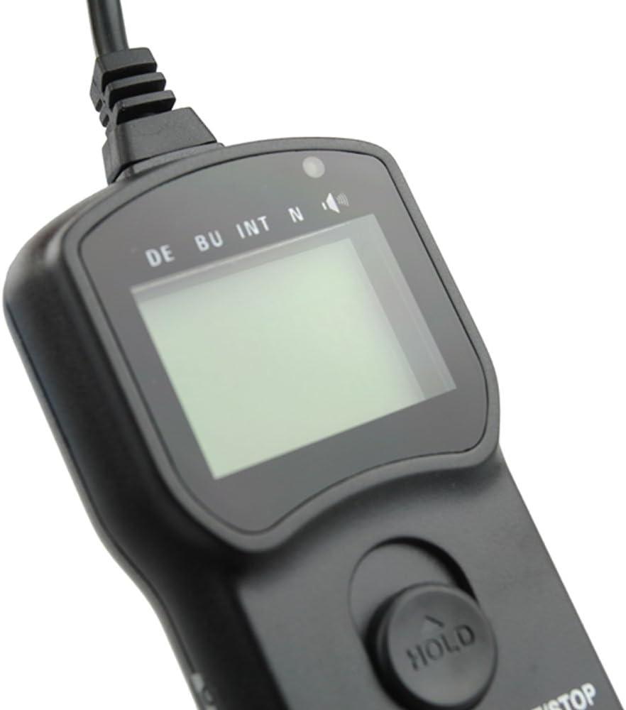 JJC TM-B Wire Multi-Function LCD Timer Remote Control for Nikon D4s F5 D4 D800 D300s D3s D3x D700 D3 D300 D2Xs D2x D200 F90x F6 Replaces Nikon MC-30