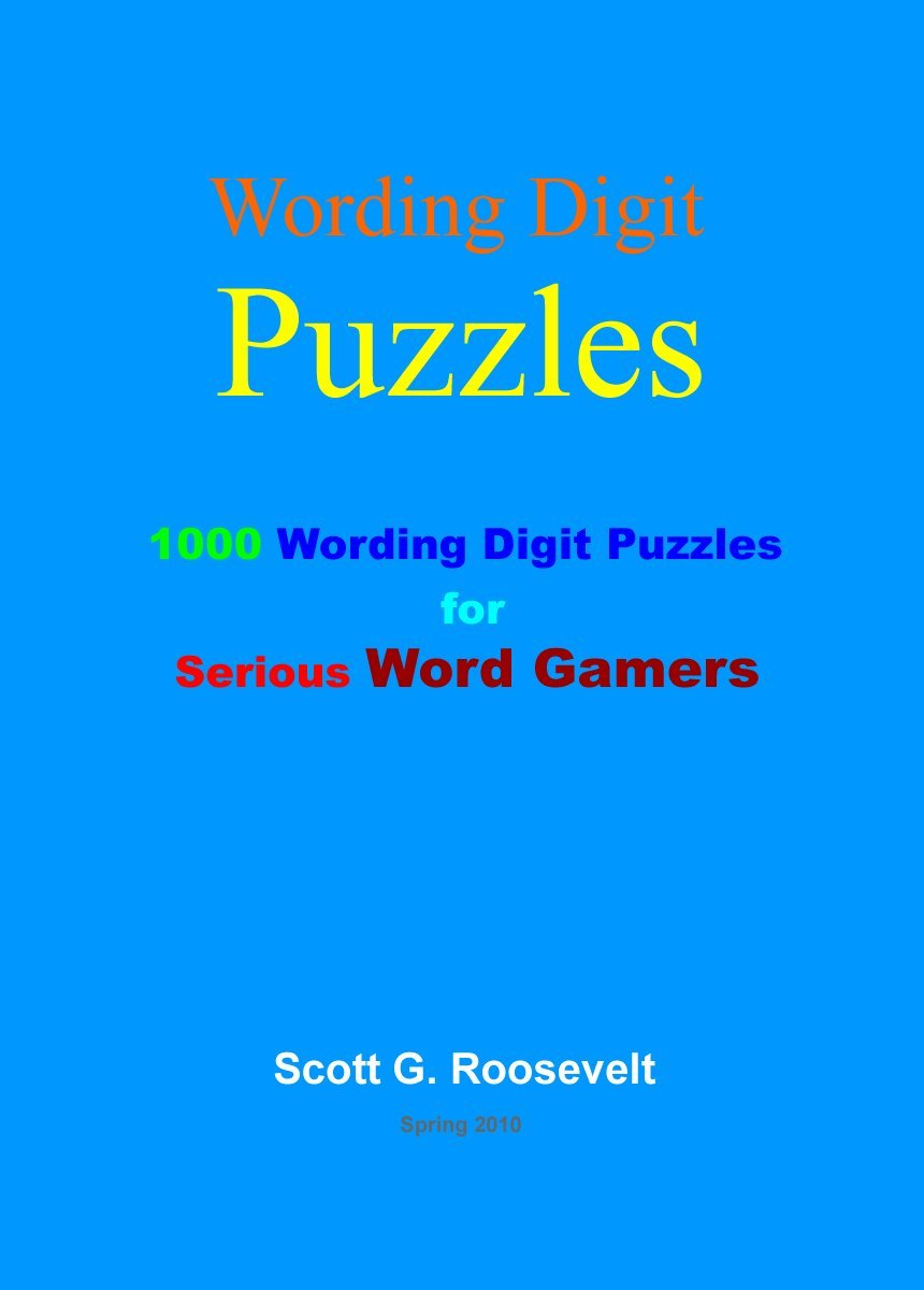 Wording Digit Puzzles  English Edition