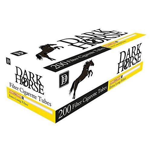 Dark Hhorse Tubetti filtro extra lungo - Confezione da 200 pz