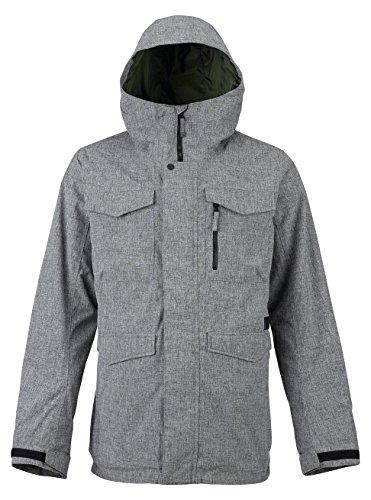Burton Men's Covert Shell Jacket, Bog Heather, (Contour Soft Shell Pant)
