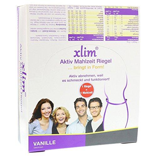 XLIM Aktiv Mahlzeit Riegel Vanille 900 g