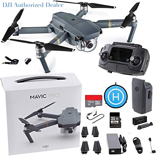 DJI Mavic Pro Starters Bundle - All You Need Bundle (Renewed)