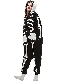 Dona-Brayman Halloween Unisex Adult Pajamas Cosplay Costume Animal Onesie  Sleepwear Nightwear eec97fb84