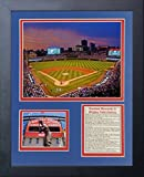 Legends Never Die MLB Chicago Cubs Wrigley Field Renovation Framed Photo Collage, 11 x 14""