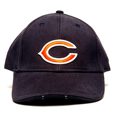 NFL Chicago Bears Dual LED Headlight Adjustable Hat by Lightwear