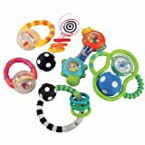 Baby Grasp & Explore Rattle Set