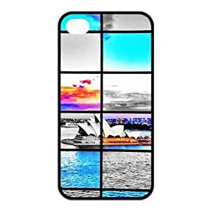 aqiloe diy Beautiful Building Cityscapes - Sydney Opera House Silicon iPhone 4/4S Case, Snap on Protective Sydney Opera House iPhone 4/4S Case by icecream design