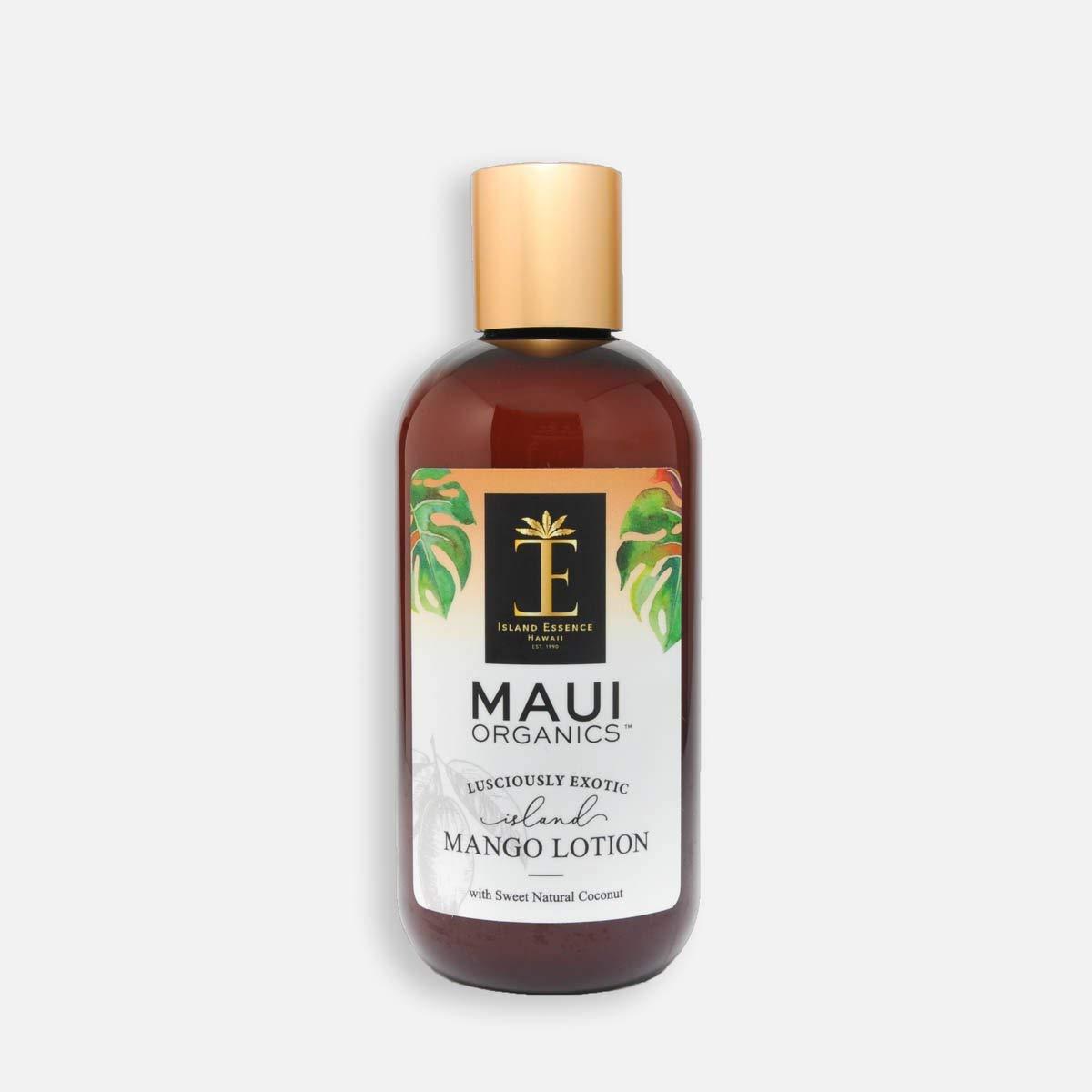 Maui Organics Intense Moisturizing Lotion, Mango, 8.5 Ounce