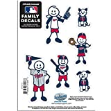 MLB Minnesota Twins Family Character Decals, Small
