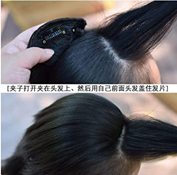 Amazon The New Simulation Pad Hair Root Fluffy Head Pad