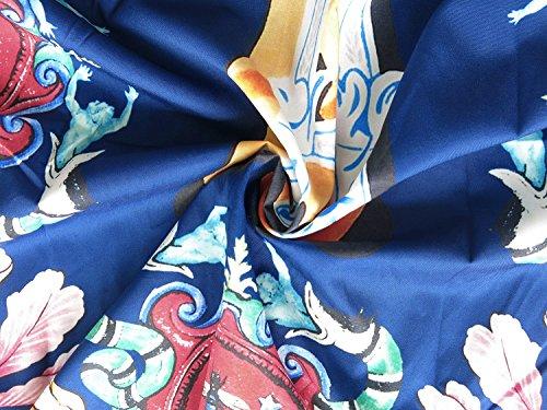 Pizoff Corte Barocco Maniche Elegante Stampa Y1782 Uomo 10 A Lussuosa Camicia r8qgTPwxr
